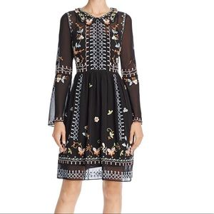 NWT French Connection Bijou Embroidered Dress Sz6